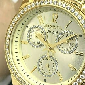 Invicta 18990 Angel Multi-Function Champagne Dial